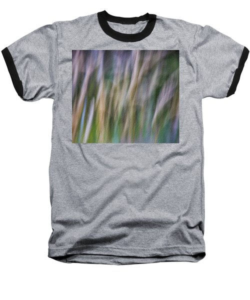 Textured Abstract Baseball T-Shirt
