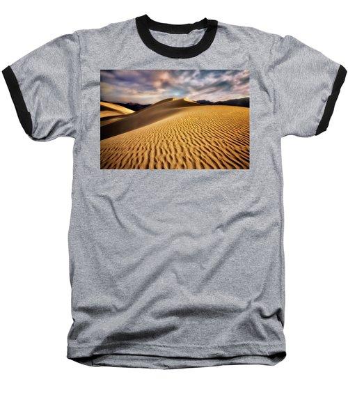 Textured Dunes  Baseball T-Shirt by Nicki Frates