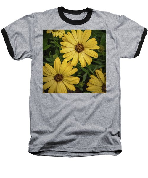 Baseball T-Shirt featuring the photograph Textured Floral by James Woody
