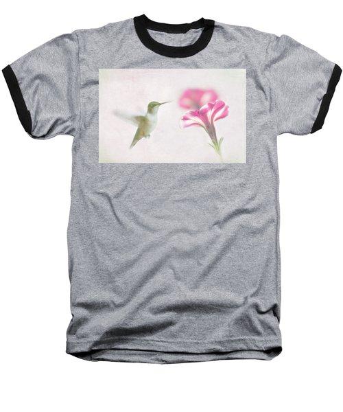 Textured Hummer Baseball T-Shirt