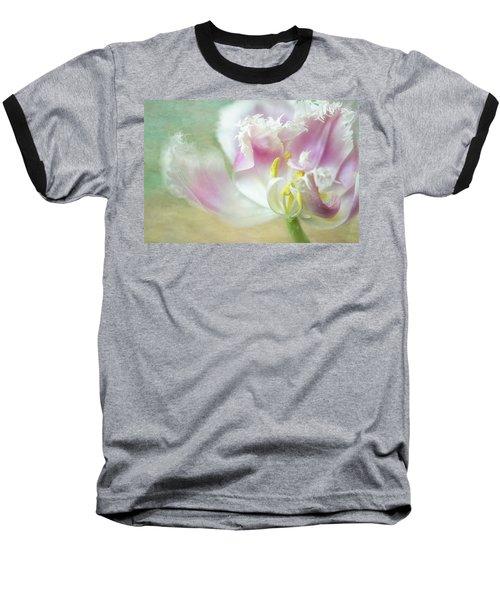 Textured Tulip Baseball T-Shirt