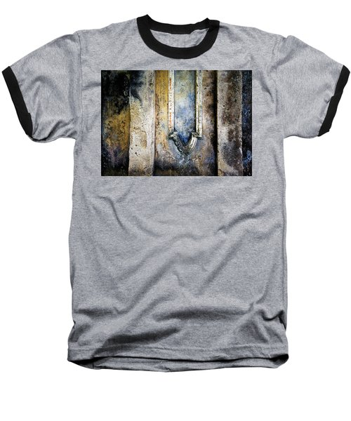 Textured Wall Baseball T-Shirt