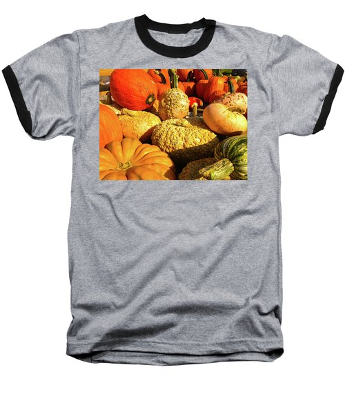 Textures Of Fall Baseball T-Shirt