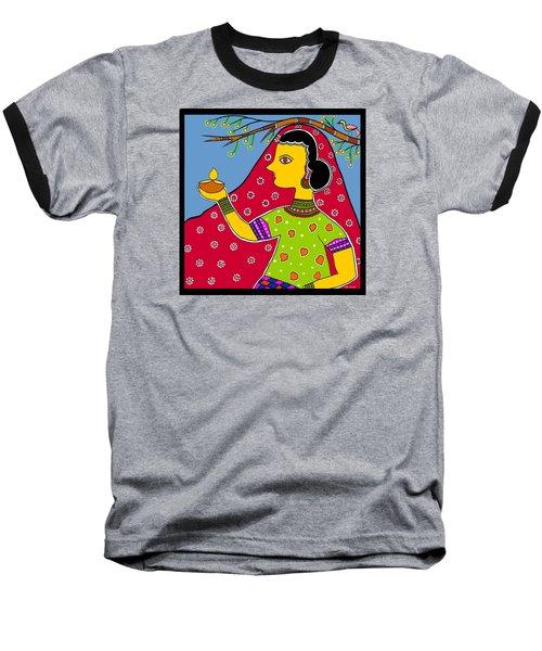Thamasoma Jyothirgamaya Baseball T-Shirt