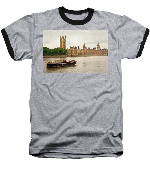 Thames Baseball T-Shirt by Keith Armstrong