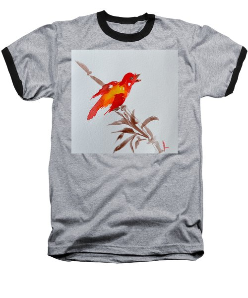 Thank You Bird Baseball T-Shirt