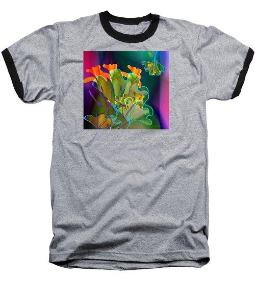 Thanksgiving Bouquet Baseball T-Shirt by Iris Gelbart