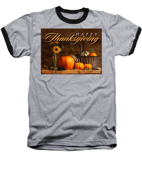 Thanksgiving I Baseball T-Shirt