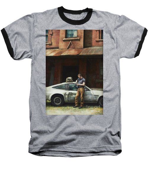 That Fleeting Moment Captured Baseball T-Shirt by Yvonne Wright
