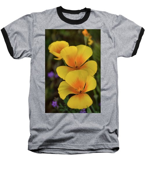 Baseball T-Shirt featuring the photograph That Golden Spring Glow  by Saija Lehtonen