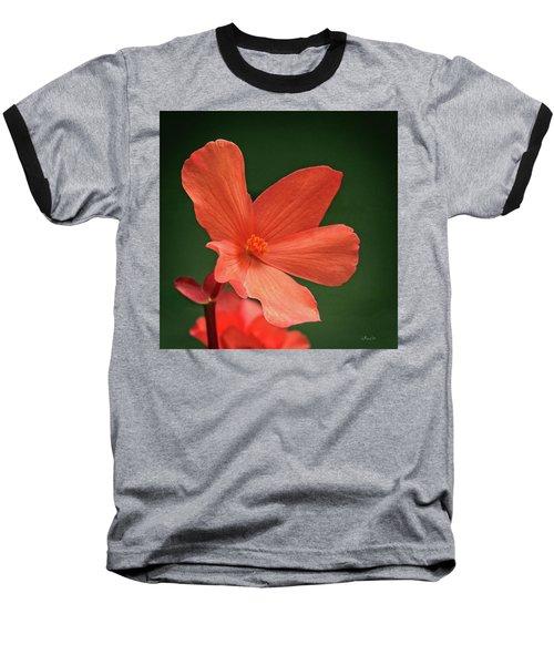 That Orange Flower Baseball T-Shirt
