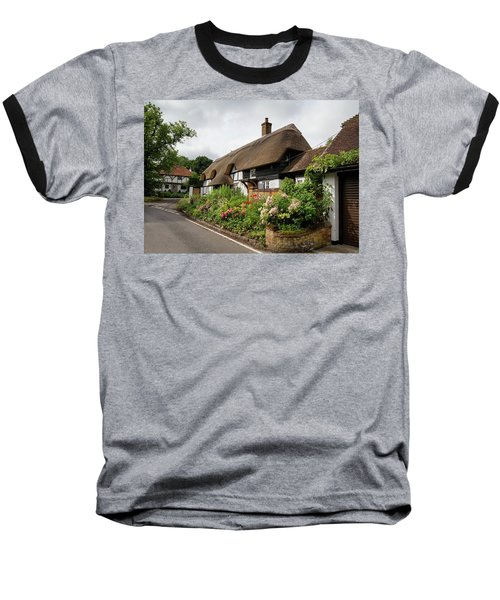 Thatched Cottages In Micheldever Baseball T-Shirt