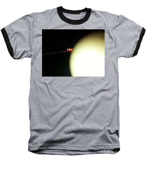 Baseball T-Shirt featuring the photograph That's No Moon by Robert Knight