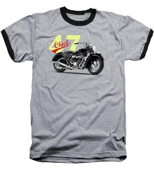 The 1947 Chief Baseball T-Shirt by Mark Rogan