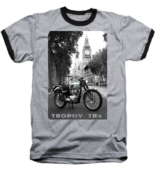 The 1956 Trophy Tr6 Baseball T-Shirt