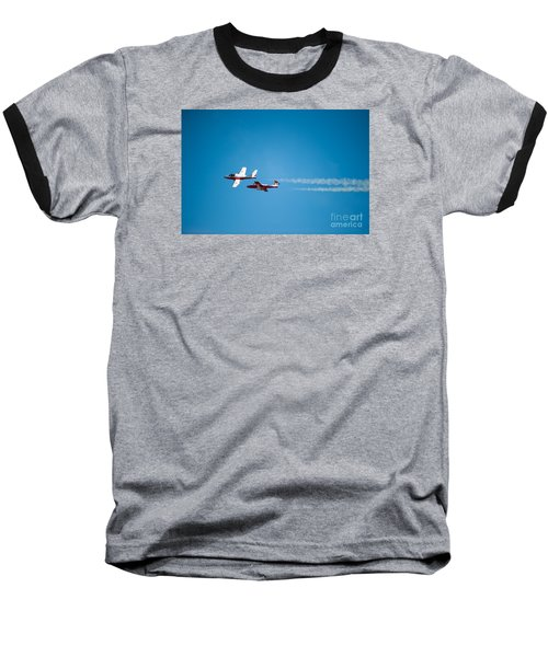 The 2 Snowbirds Baseball T-Shirt