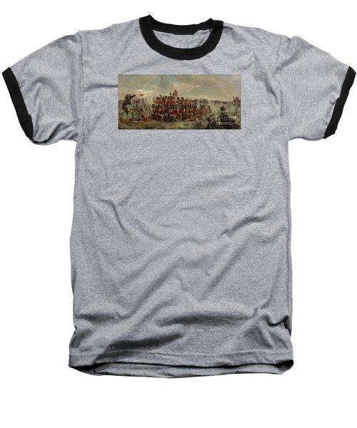 The 28th Regiment At Quatre Bras Baseball T-Shirt