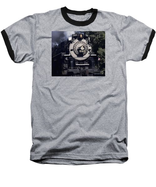 Baseball T-Shirt featuring the photograph The 765 by Jim Lepard