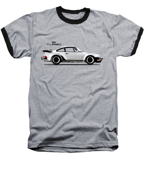 The 911 Turbo 1984 Baseball T-Shirt by Mark Rogan