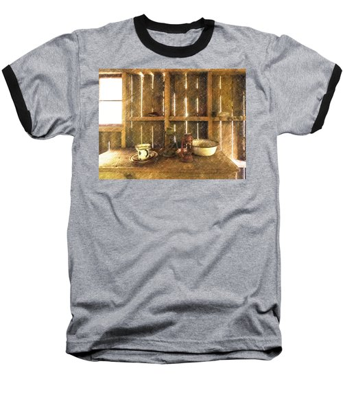 The Abandoned Cabin Baseball T-Shirt