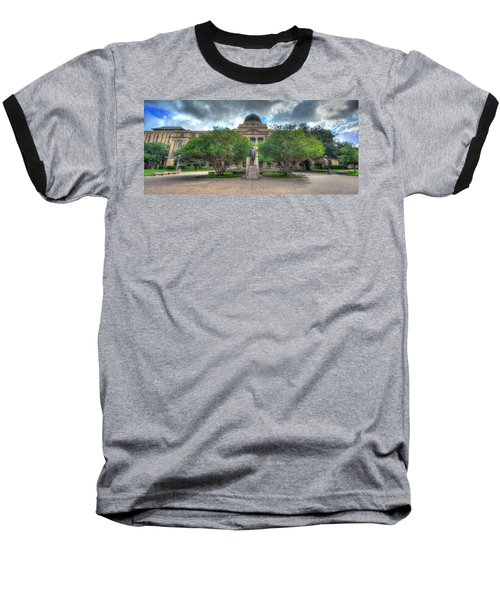 The Academic Building Baseball T-Shirt