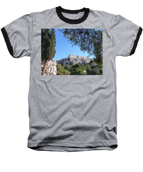 The Acropolis Baseball T-Shirt by Constance DRESCHER