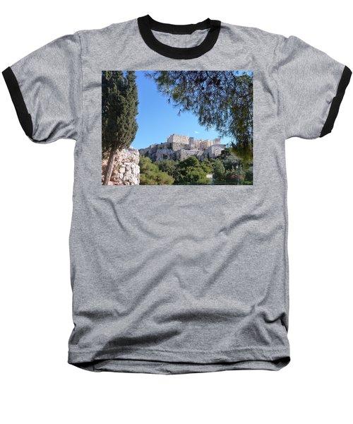 The Acropolis Baseball T-Shirt