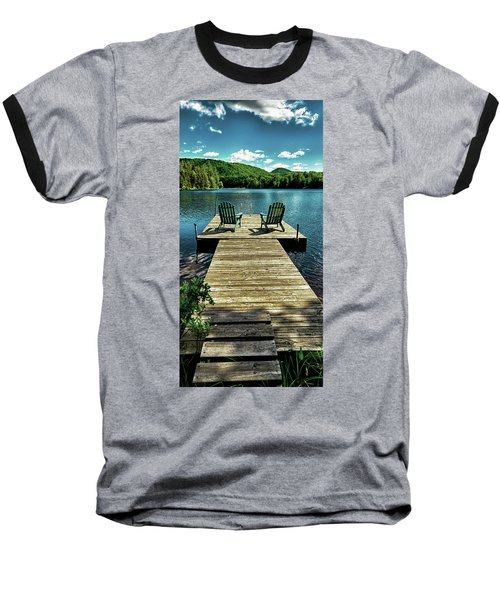 The Adirondacks Baseball T-Shirt by David Patterson