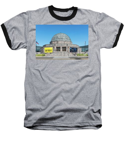 The Adler Planetarium Baseball T-Shirt