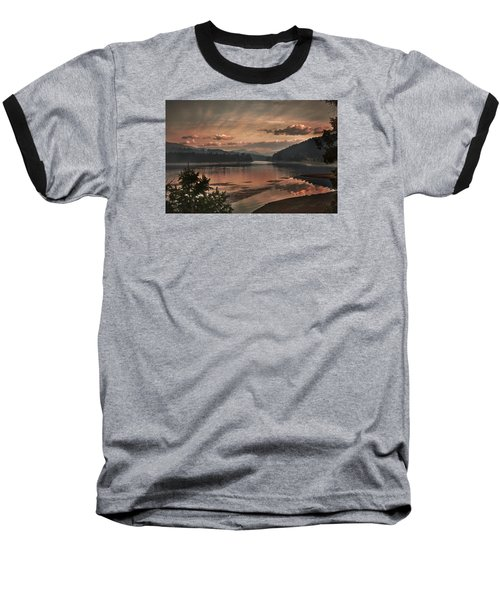 The Adventure Begins Baseball T-Shirt by Loni Collins
