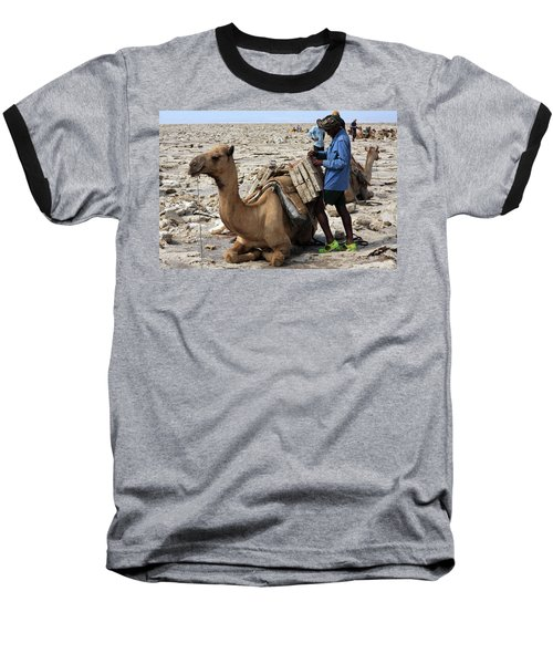 The Afar People  Baseball T-Shirt
