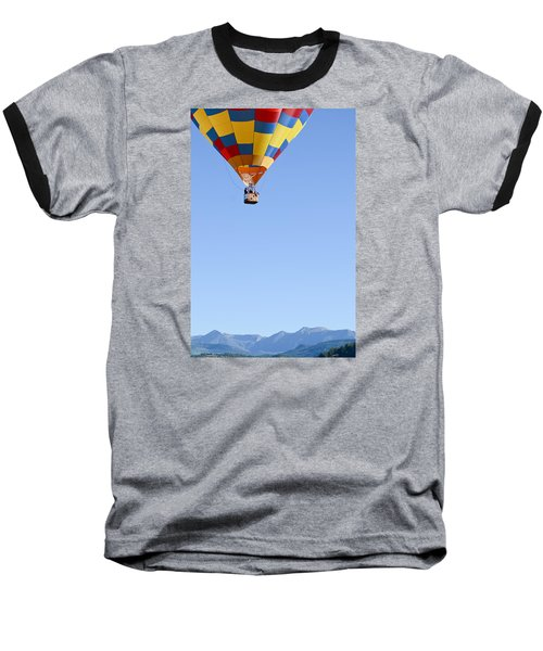 The Air Up There... Baseball T-Shirt by Kevin Munro