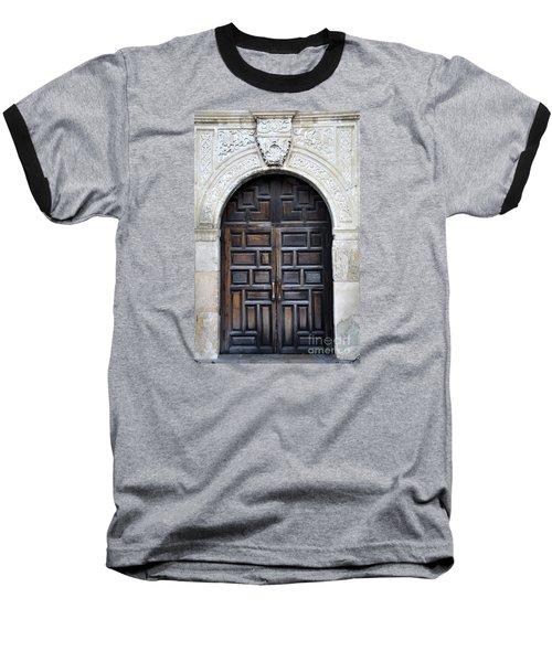 The Alamo Door Baseball T-Shirt