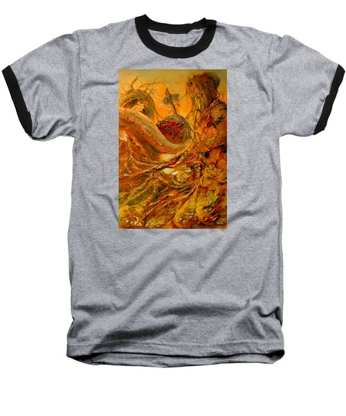 Baseball T-Shirt featuring the painting The Alchemist by Henryk Gorecki