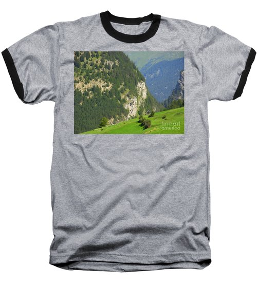 The Alps In Spring Baseball T-Shirt