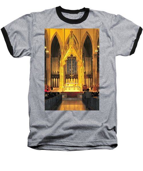 Baseball T-Shirt featuring the photograph The Alter by Diana Angstadt