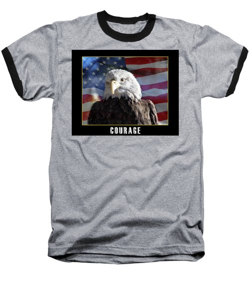 The American Bald Eagle Baseball T-Shirt