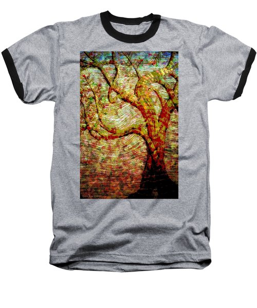 The Ancient Tree Of Wisdom Baseball T-Shirt