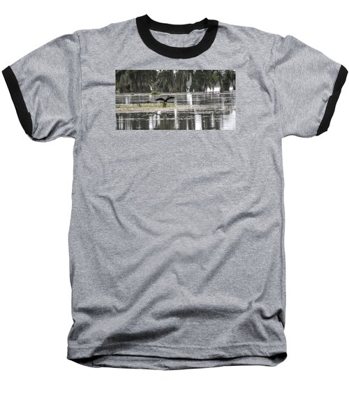 The Announcer  Baseball T-Shirt by Betsy Knapp