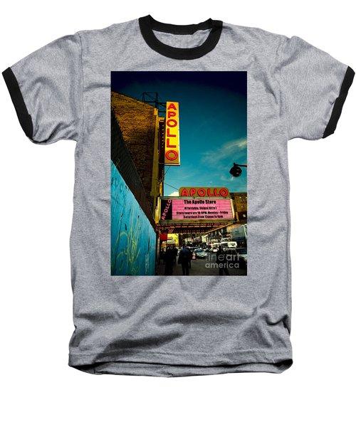 The Apollo Theater Baseball T-Shirt by Ben Lieberman