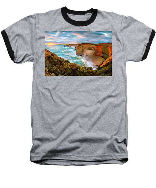 The Apostles Sunset Baseball T-Shirt