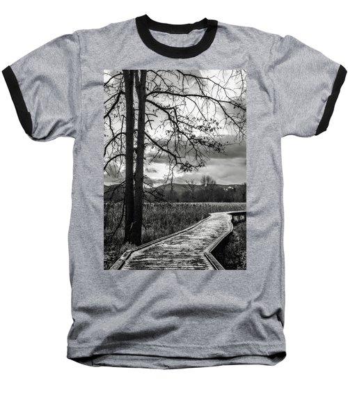 Baseball T-Shirt featuring the photograph The Appalachian Trail by Eduard Moldoveanu