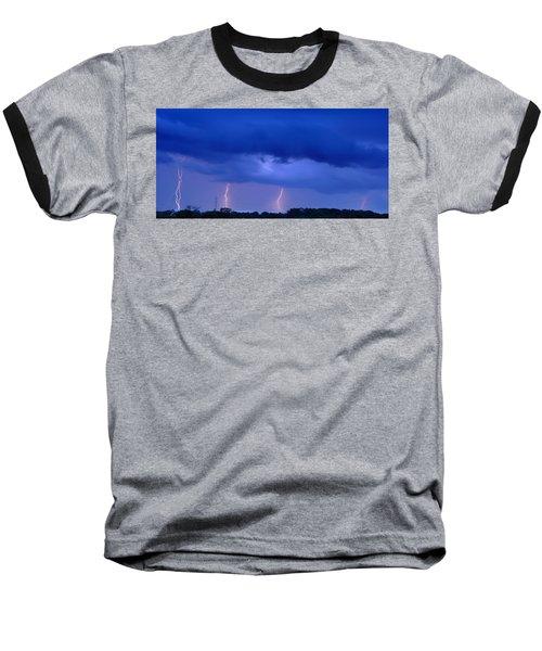The Approching Storm Baseball T-Shirt