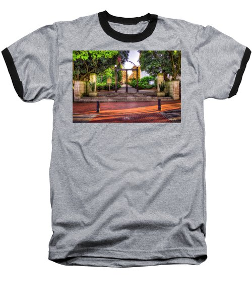 The Arch 4 University Of Georgia Arch Art Baseball T-Shirt