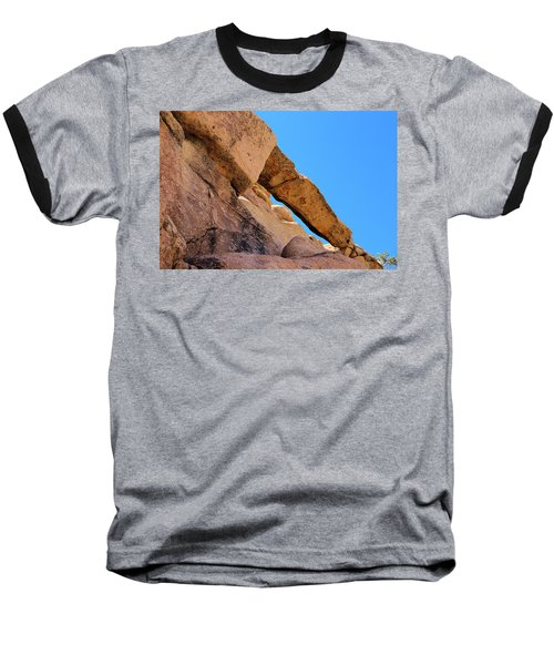 Baseball T-Shirt featuring the photograph The Arch In Joshua Tree Np by Viktor Savchenko