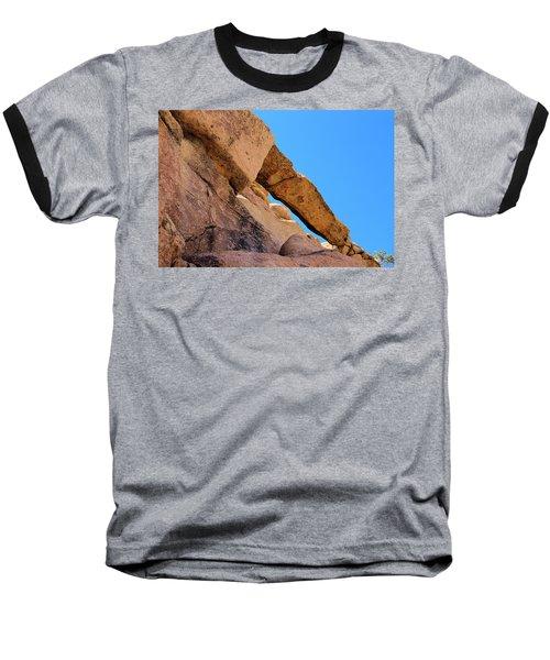 The Arch In Joshua Tree Np Baseball T-Shirt by Viktor Savchenko