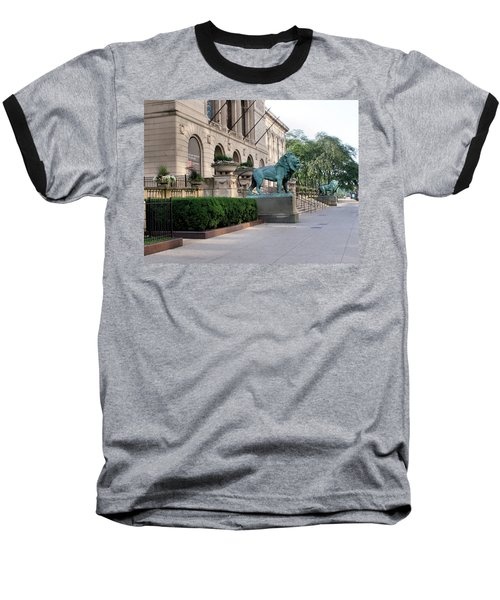 The Art Institute Of Chicago - 3 Baseball T-Shirt
