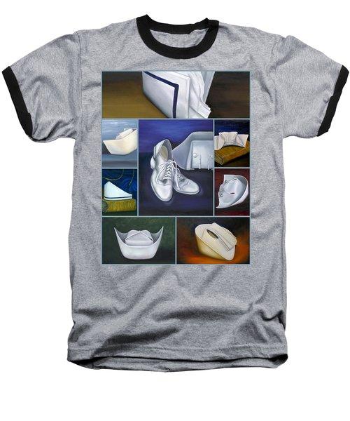 The Art Of Nursing Baseball T-Shirt by Marlyn Boyd