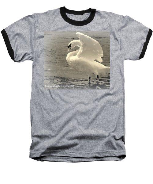 The Art Of The Swan  Baseball T-Shirt
