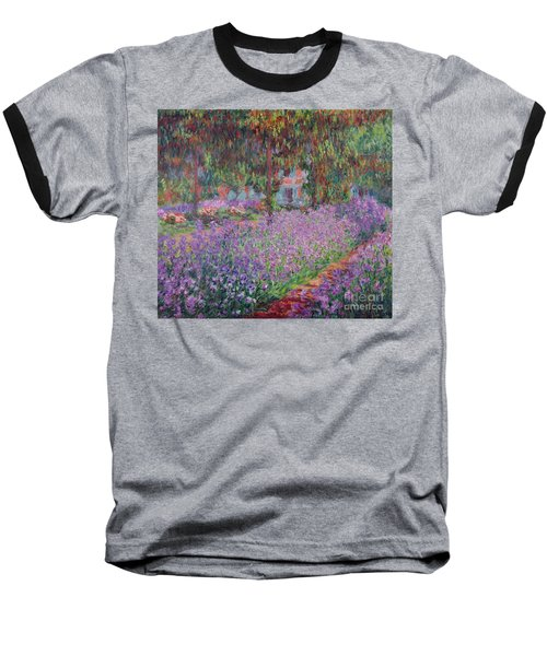 The Artists Garden At Giverny Baseball T-Shirt